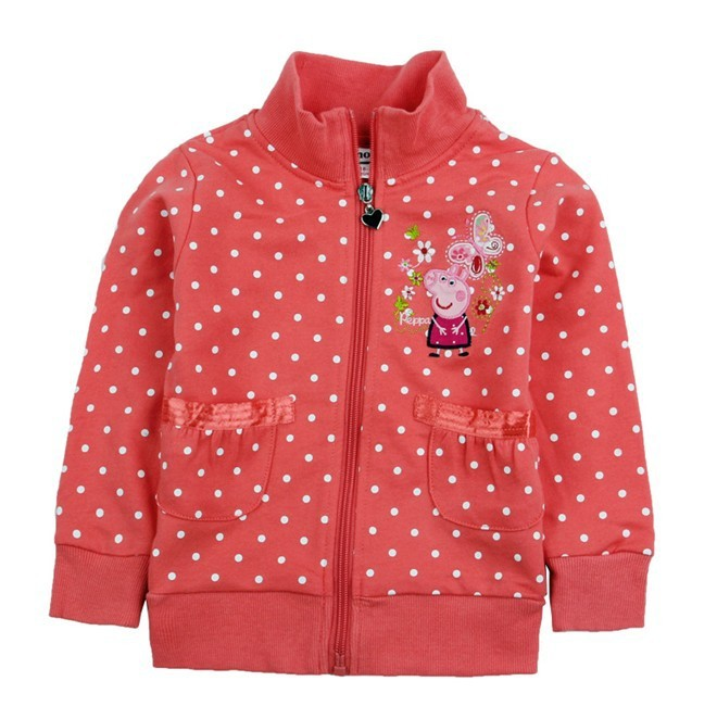 Kids' Pink Peppa Pig Coat