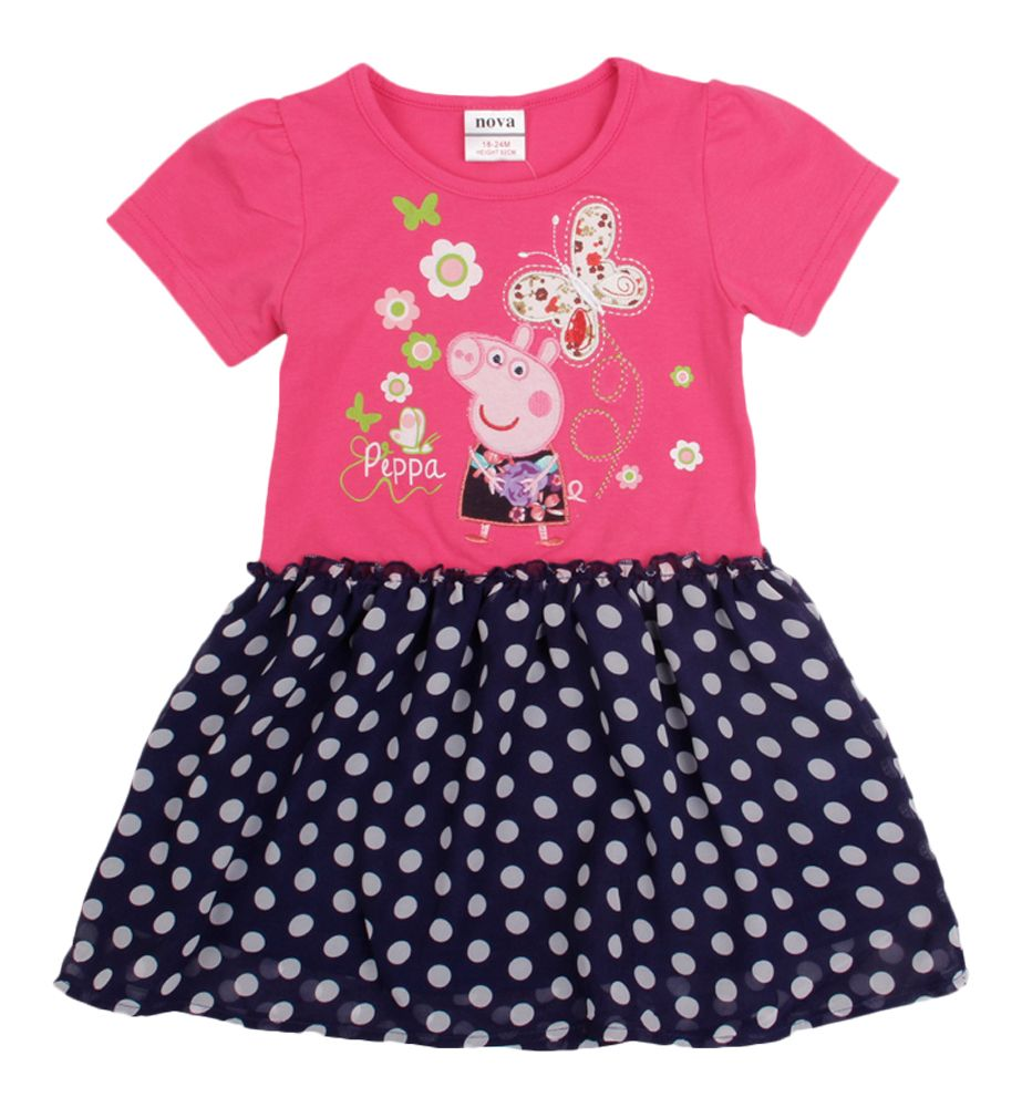 Peppa pig dress top
