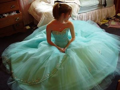 wedding prom dress