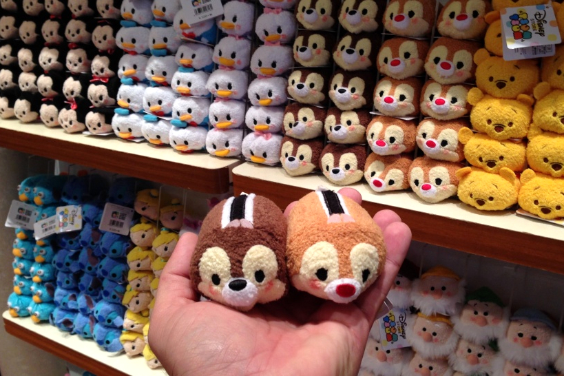 There Are Three Sizes Of These Plush Toys And I Can T Help Loving The Mini One Say O To Chip Dale You Could Hold Them On Your Hand