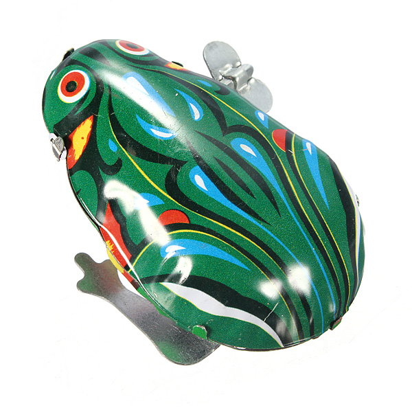 wind-up jumping frog toys