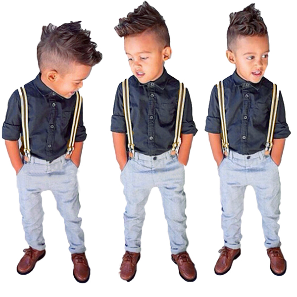 Stylish Boy Dressed in Navy | Smart BabyTree