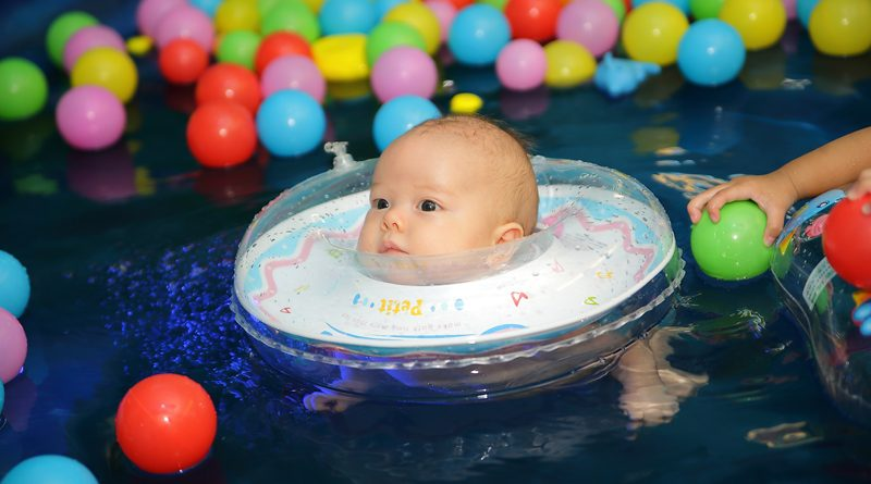 baby swimming rings